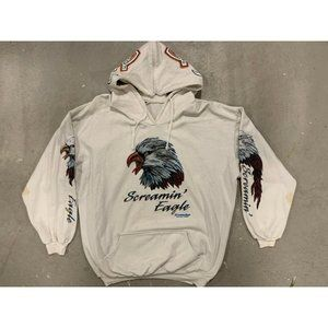 1980 Screaming Eagle Heavy Graphic Montreal Hoodie